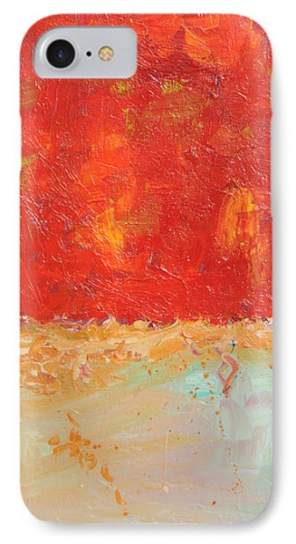 Red Sky At Night IPhone Case by Paulette B Wright