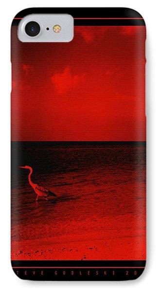 Red Sky IPhone Case by Steve Godleski