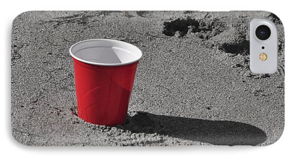 Red Solo Cup IPhone Case by Trish Tritz