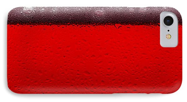 Red Sparkling Wine IPhone Case by Steve Gadomski