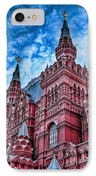 Red Square - Moscow Russia IPhone Case by Jon Berghoff