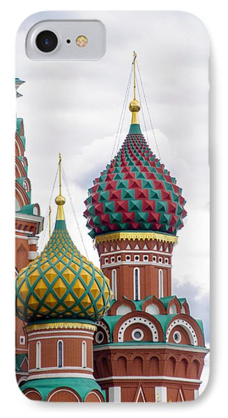 Red Square - St Basils - Moscow Russia IPhone Case by Jon Berghoff