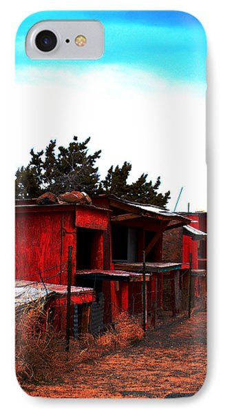 IPhone Case featuring the photograph Red Stands by Maggy Marsh