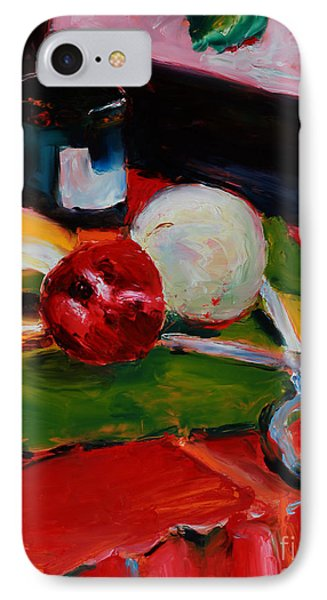 Red Still Life Phone Case by Janet Felts