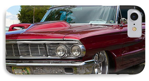 Red Street Car Rod IPhone Case by Mick Flynn