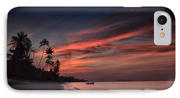 Red Sunset Phone Case by Michelle Meenawong