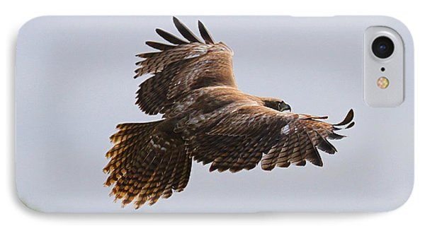 Red Tail Take Off Phone Case by Paul Marto