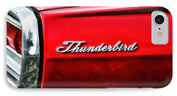 Red Thunderbird Phone Case by Bill Cannon