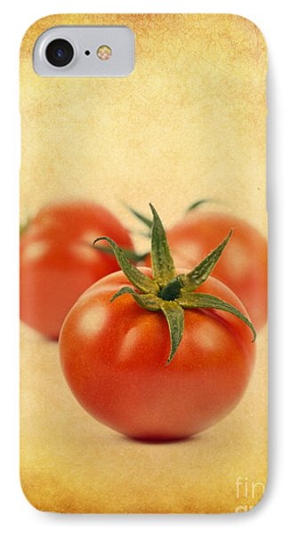 IPhone Case featuring the photograph Red Tomato by Mohamed Elkhamisy