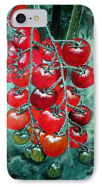 Red Tomatos Phone Case by Huy Lee