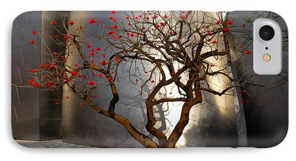 Red Tree  IPhone Case by Gandz Photography