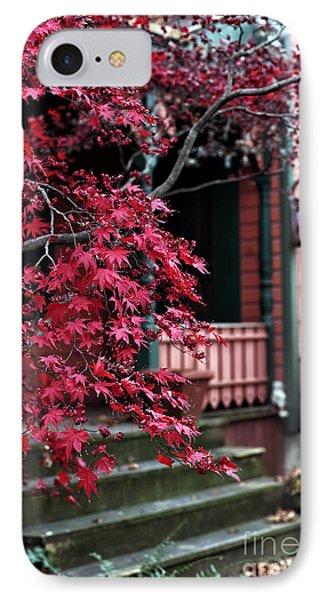 Red Tree Phone Case by John Rizzuto