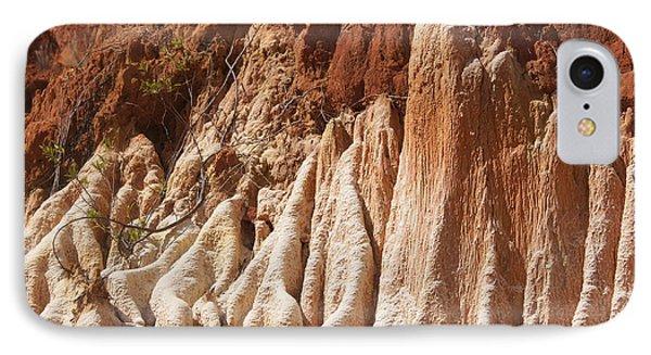 red Tsingy Madagascar Phone Case by Rudi Prott