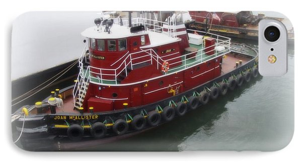 IPhone Case featuring the photograph Red Tugboat by Kristine Nora