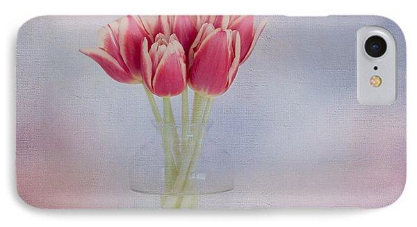 Red Tulip Still Life Phone Case by Kim Hojnacki