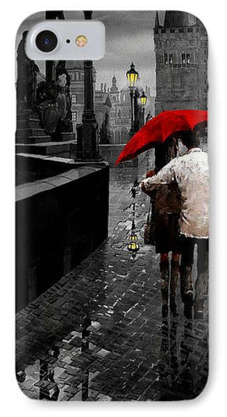 Red Umbrella 2 IPhone Case