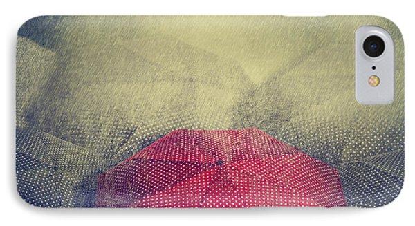 Red Umbrella Phone Case by Jelena Jovanovic