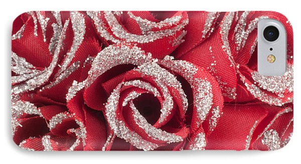 IPhone Case featuring the photograph Red Valentines Day Roses by Gunter Nezhoda