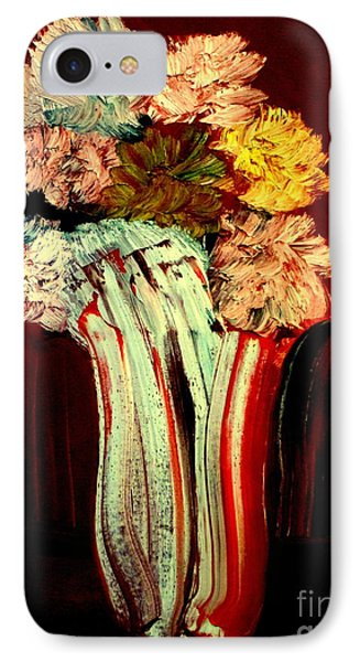 Red Vase 7 IPhone Case by Bill OConnor