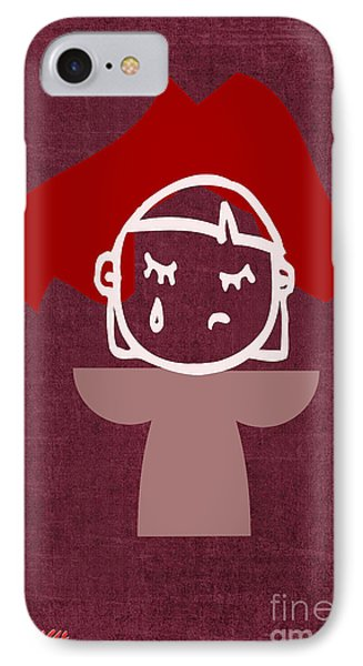 Red Veil Phone Case by Tina M Wenger