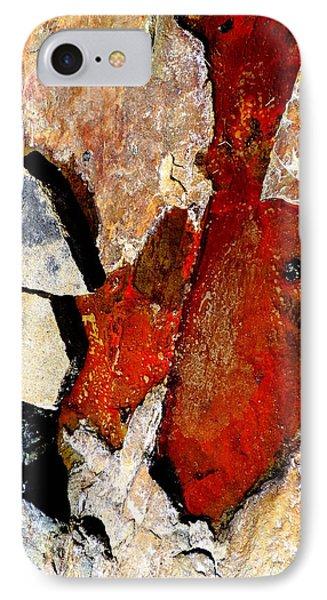 Red Veins IPhone Case by Marcia Lee Jones