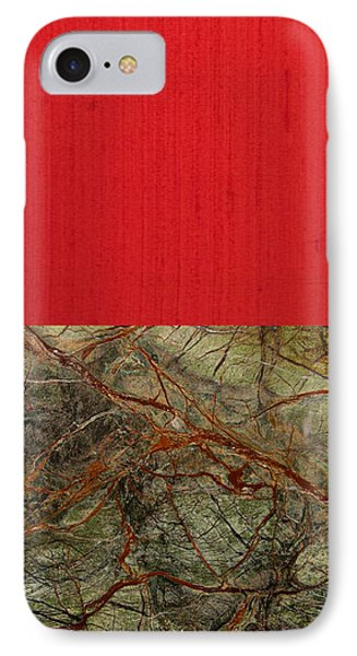 Red Veins Phone Case by Margaret Ivory