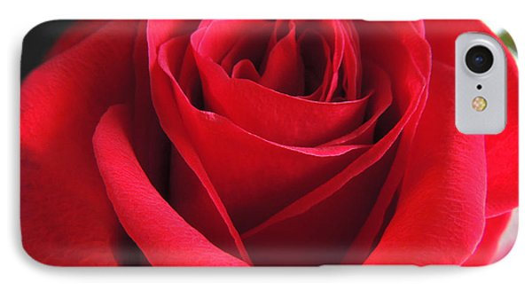 Red Velvet IPhone Case by Kristine Merc