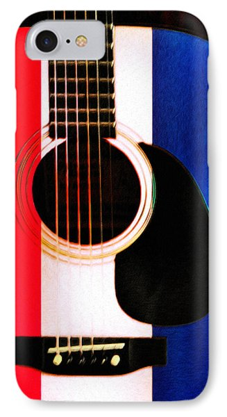 Red White And Blues Phone Case by Bill Cannon