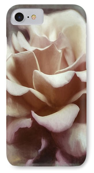 IPhone Case featuring the photograph Red White Rose by Jean OKeeffe Macro Abundance Art