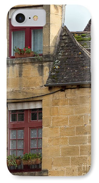 IPhone Case featuring the photograph Red Windows by Paul Topp