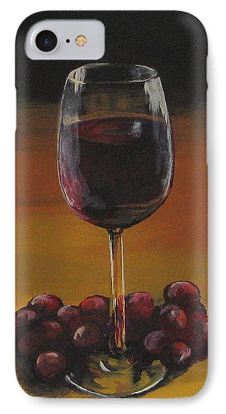 Red Wine And Red Grapes IPhone Case by Torrie Smiley