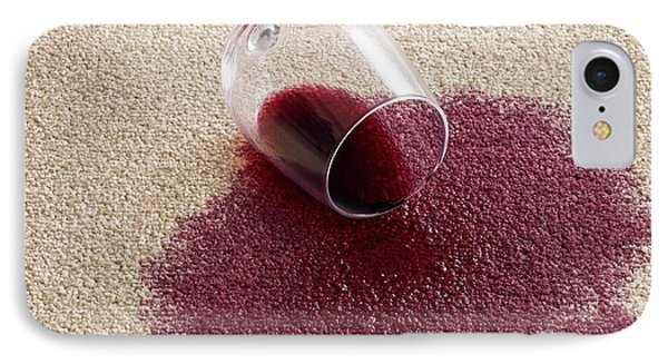 Red Wine On Carpet IPhone Case