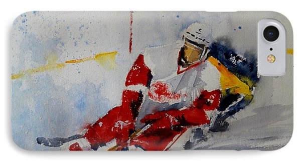 Red Wings IPhone Case by Sandra Strohschein