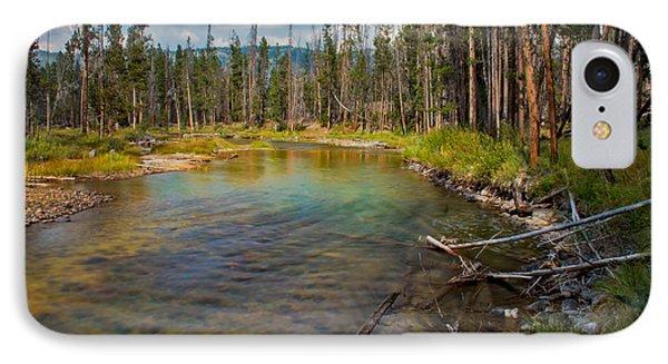 Redfish Lake Creek Phone Case by Robert Bales