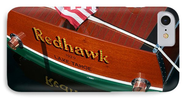 IPhone Case featuring the photograph Redhawk by Vinnie Oakes