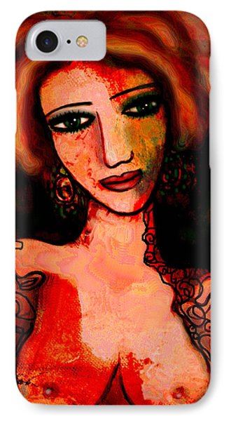 Redhead Phone Case by Natalie Holland