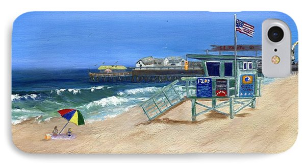 Redondo Beach Lifeguard  IPhone Case