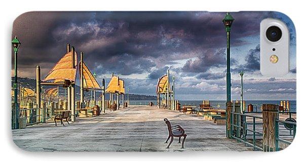 Redondo Pier Phone Case by Joseph Hollingsworth