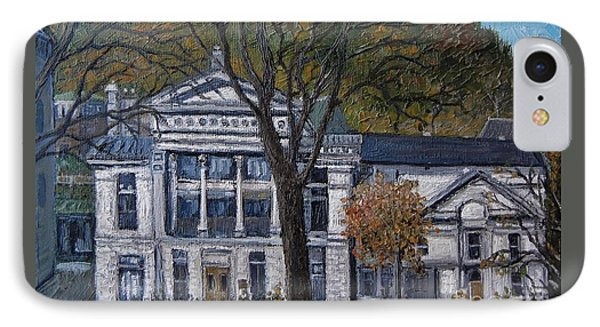 Redpath Museum IPhone Case by Reb Frost