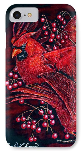 Reds Phone Case by Linda Simon