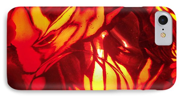 Reds Stained Glass IPhone Case