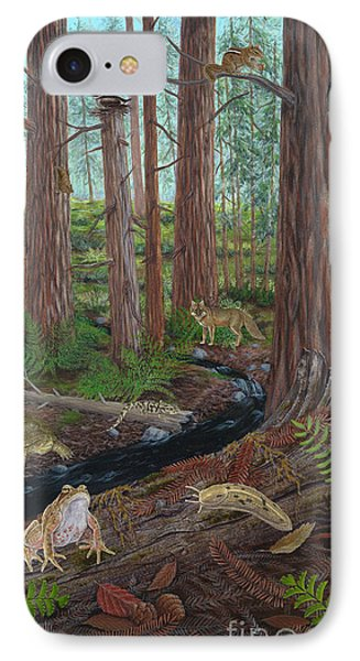 Redwood Forest Phone Case by Carlyn Iverson