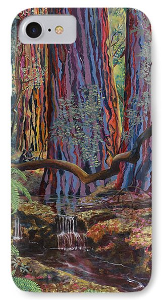 Redwood Picnic Phone Case by Cheryl Myrbo