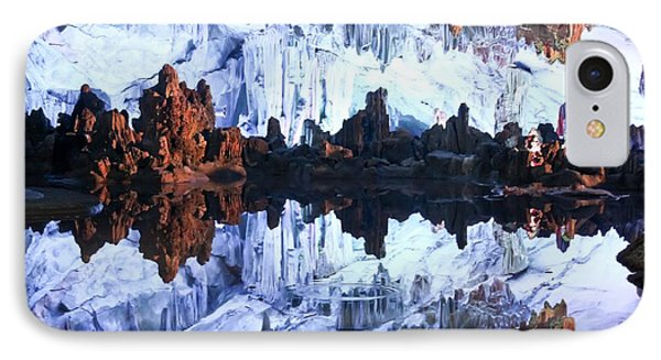 Reed Flute Cave Guillin China Phone Case by Thomas Marchessault