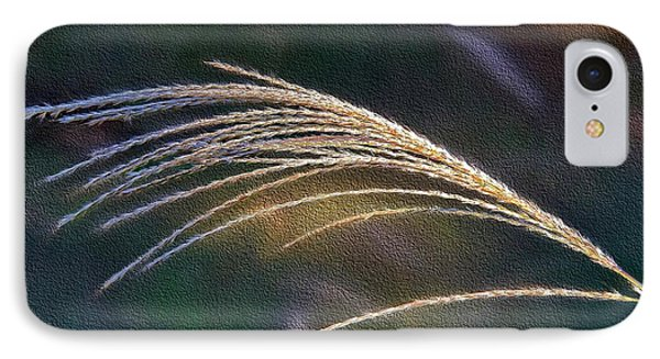 Reed Grass IPhone Case by Ludwig Keck