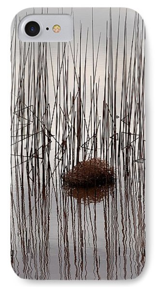 Reed Reflection Phone Case by T C Brown