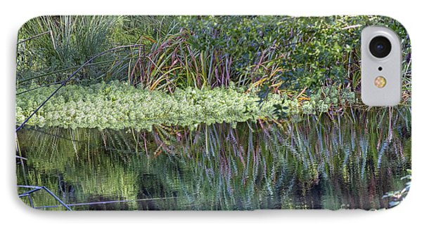 IPhone Case featuring the photograph Reed Reflections by Kate Brown