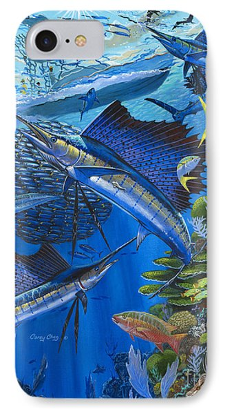 Reef Frenzy Off00141 IPhone Case by Carey Chen