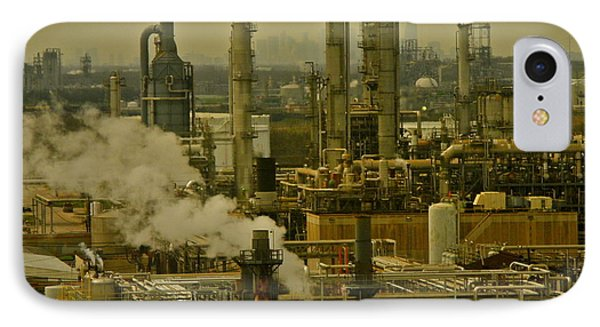 Refineries In Houston Texas IPhone Case by Kirsten Giving