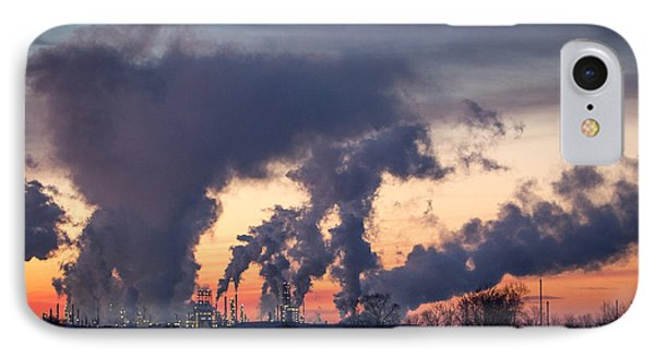 IPhone Case featuring the photograph Flint Hills Resources Pine Bend Refinery by Patti Deters